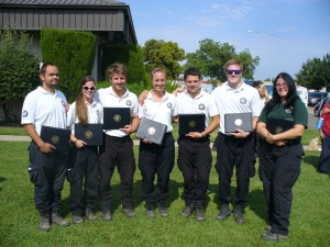 Green 6 on graduation from AmeriCorps NCCC, Pacific Region