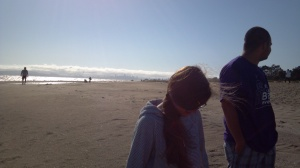 Beach time in Alameda